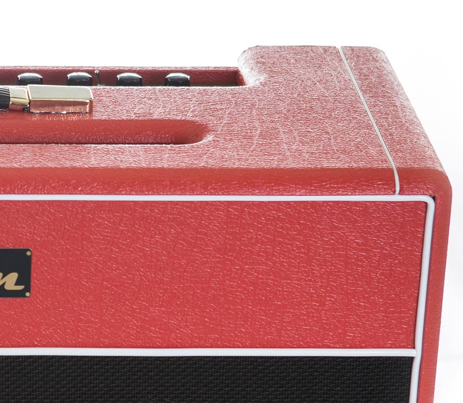 The V2-50C looks every bit as good as it sounds, with a striking Hurricane Red colour scheme finished by hand.