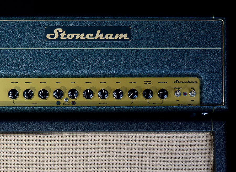 This amp packs double the punch of it's little brother, with a 100W EL34 power stage.