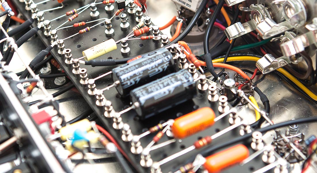 All stoneham amps are hand-wired here in our workshop in Newcaste, UK.